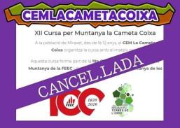 XII MARXA la Cameta Coixa - CANCEL·LADA