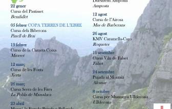 CALENDARI Xè CIRCUIT CURSES PER MUNTANYA TERRES DE L'EBRE