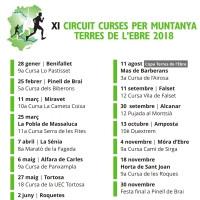 XI CIRCUIT DE CURSES PER MUNTANYA DE LES TERRES DE L'EBRE