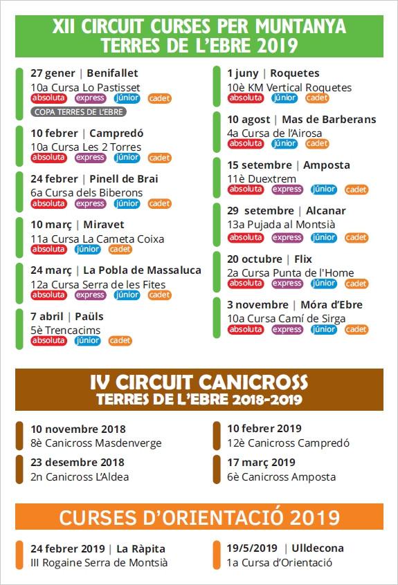 FESTA CLOENDA CIRCUIT DE CURSES I CANICROS