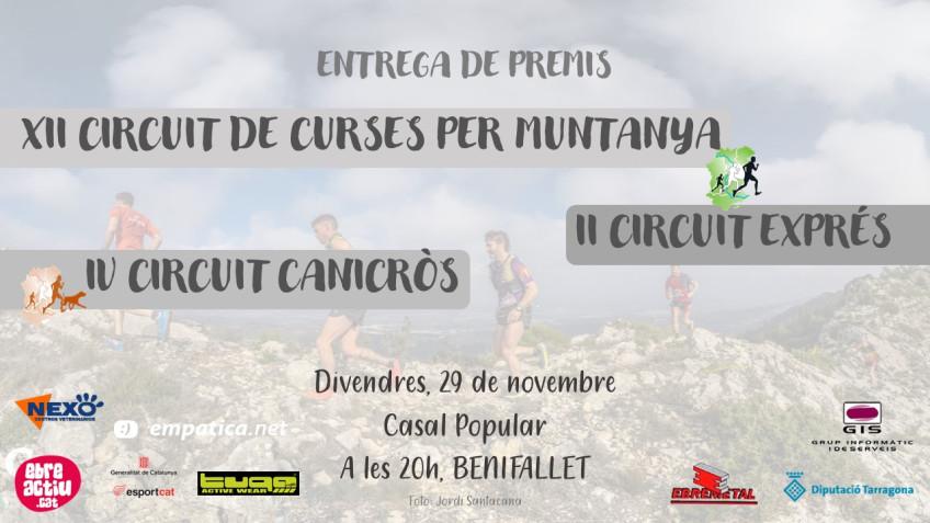 ENTREGA TROFEUS CIRCUITS 2019